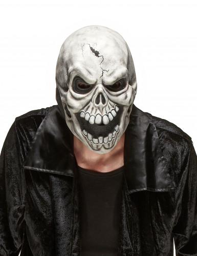Schädel Maske aus Latex