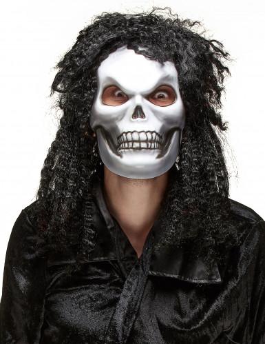 Halloween Maske für Erwachsene - haariger Kopf