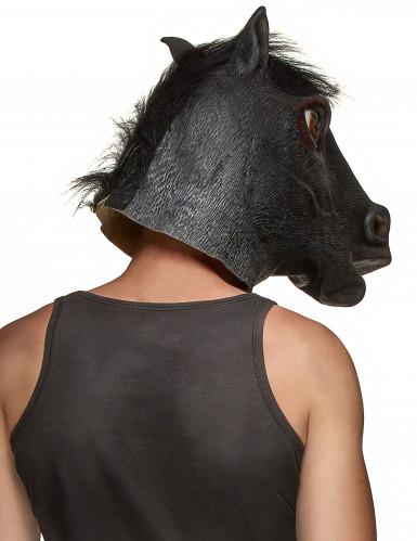 Pferdekopf Latex-Maske für Erwachsene-1