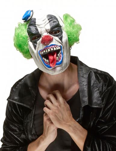 Horrorclowns-Latexmaske für Erwachsene zu Halloween