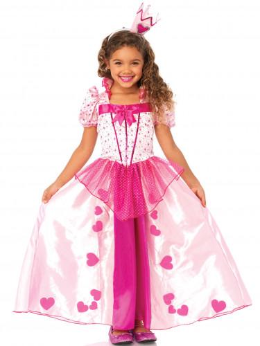 Prinzessin Kostüm für Mädchen, rosa