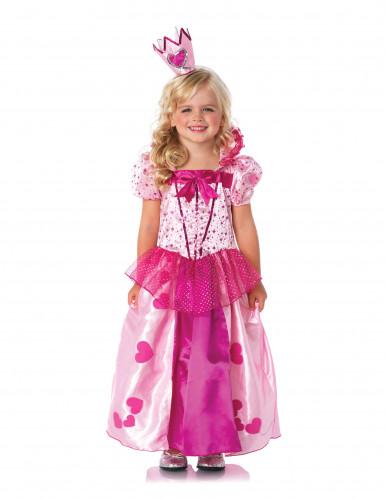 Prinzessin Kostüm für Mädchen, rosa-1