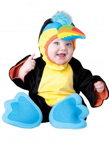 Wunderschönes, buntes Papageien-Kostüm für Babys in Premium-Qualität
