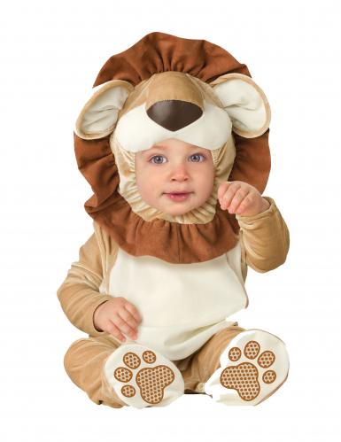 Baby-Löwenkostüm Tier-Verkleidung braun