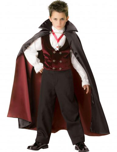 Gothic Vampir-Kostüm für Kinder - Deluxe