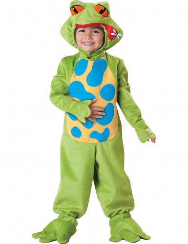 Frosch-Kostüm für Kinder - Deluxe