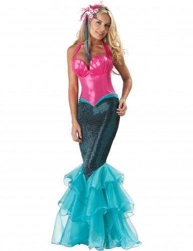 Deluxe Meerjungfrau Kostüm für Damen