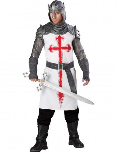 Kreuzritter-Kostüm für Herren - Deluxe