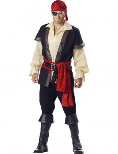 Piraten- Kostüm für Herren - Deluxe