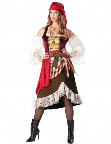 Seefahrer-Kostüm für Damen - Deluxe S