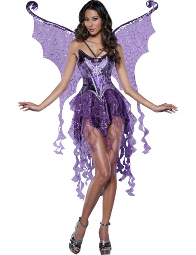 Glamour Nymphen-Kostüm für Damen - Deluxe