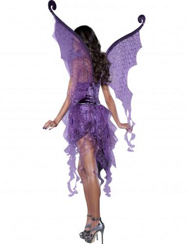 Glamour Nymphen-Kostüm für Damen - Deluxe-1