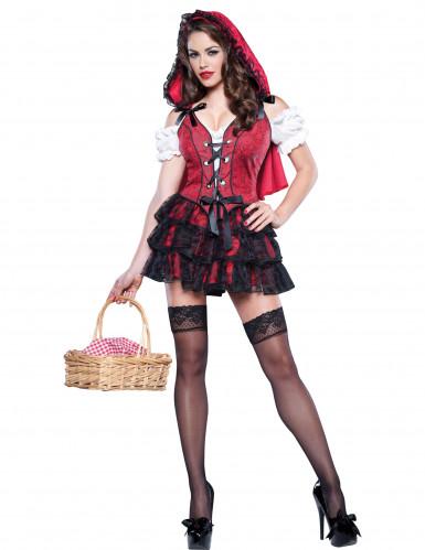 Hochwertiges Rotkäppchen Kostüm