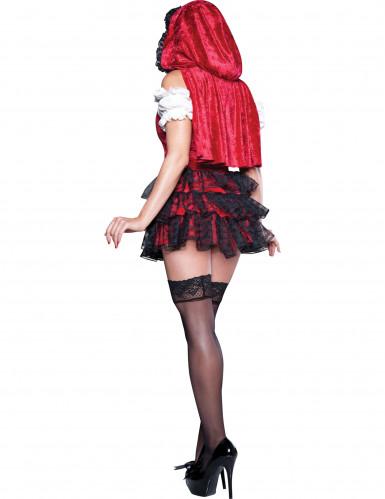 Hochwertiges Rotkäppchen Kostüm-1