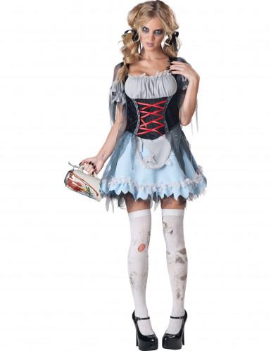 Bayerisches Zombie-Dirndl für Damen