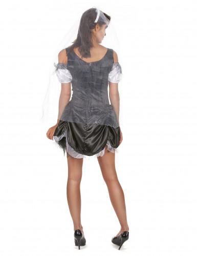 Schickes Halloween Skelett Kostüm für Damen-2