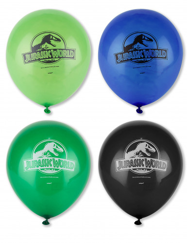 8 Jurassic World™ Latex-Luftballons