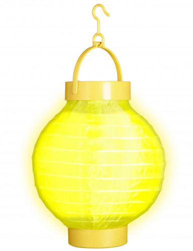 Leucht-Laterne - gelb