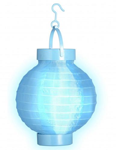 Leucht-Laterne - blau