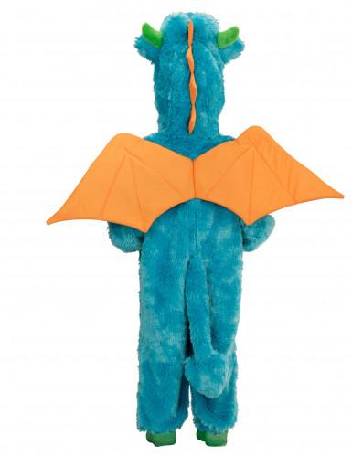 Blauer Drachen Kostüm für Kinder-1