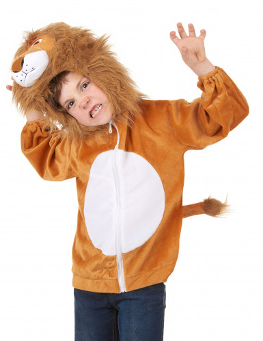 Kapuzenjacke Löwe für Kinder-1