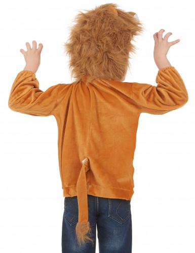 Kapuzenjacke Löwe für Kinder-2