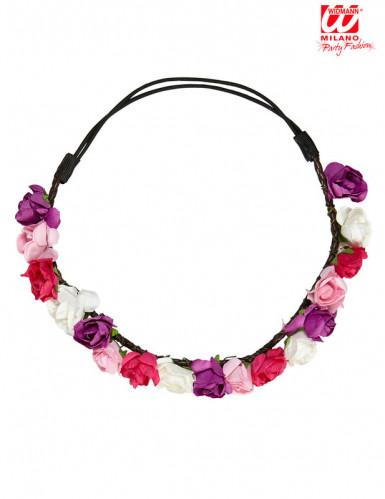 Blumenkranz im Pastellton für Damen-1