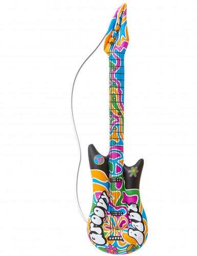 Aufblasbare Hippie Gitarre