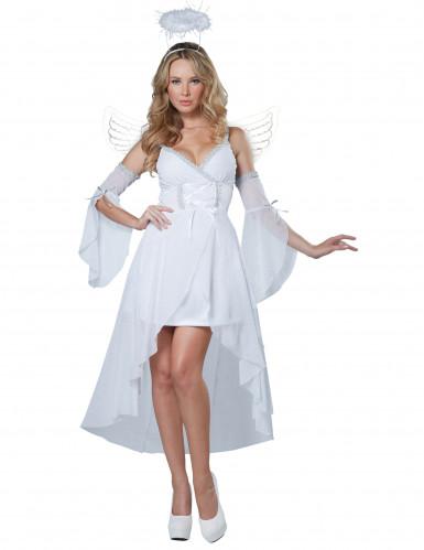 Hübsches Engel-Kostüm für Damen L (42/44)