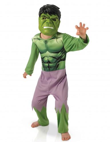 klassisches avengers kost m hulk mit maske f r kinder kost me f r kinder und g nstige. Black Bedroom Furniture Sets. Home Design Ideas