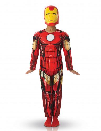 Iron Man - Avengers Deluxe Kostüm für Kinder 98/104 (3-4 Jahre) 4YJ0E279