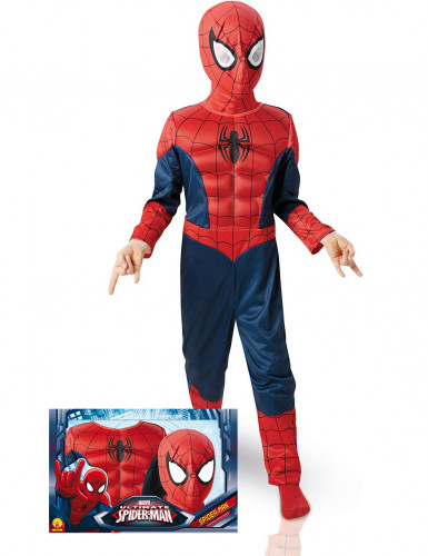 Spiderman™ Ultimate EVA 3D Kostüm für Kinder - Deluxe-Pack