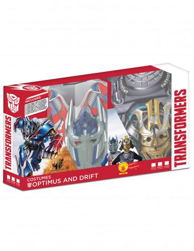 Klassische Kinder-Kostüme Transformers Optimus Prime und Drift in Geschenkpackung-1