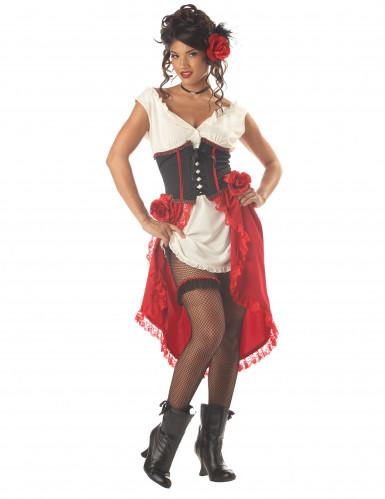 Sexy Wirtin-Kostüm für Damen