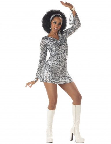 disco diva outfit f r damen kost me f r erwachsene und. Black Bedroom Furniture Sets. Home Design Ideas