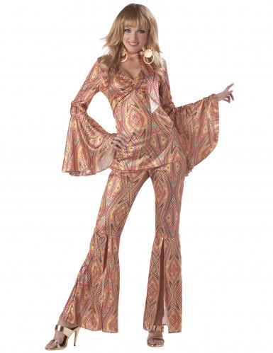 Verkleidung Disco mit Pailletten für Frauen