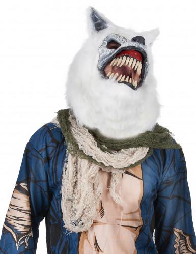 Erschreckende Wolfsmaske für Erwachsene-1
