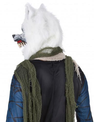 Erschreckende Wolfsmaske für Erwachsene-2