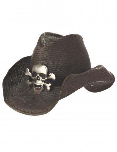 Piraten-Hut für Erwachsene mit Totenkopf