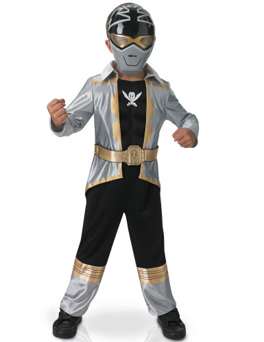 Power Rangers™ Silver Super Mega Force für Kinder - 3D EVA