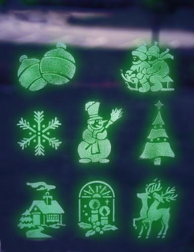 Im Dunkeln leuchtender Sprüh-Schnee-2