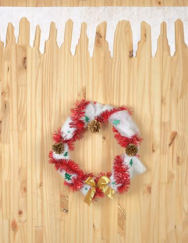 2 Weihnachtsschneegirlanden 120 cm-1