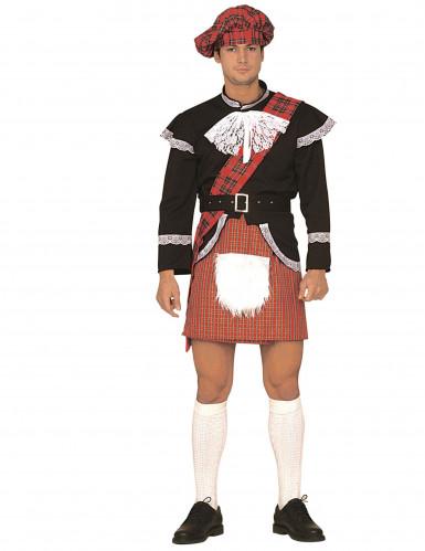 Humoristischer schottischer Kilt für Erwachsene