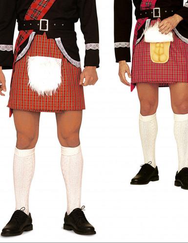 Humoristischer schottischer Kilt für Erwachsene-1