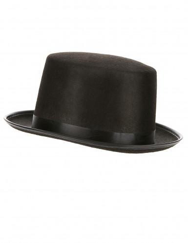 Schwarzer Zylinder-Hut für Erwachsene