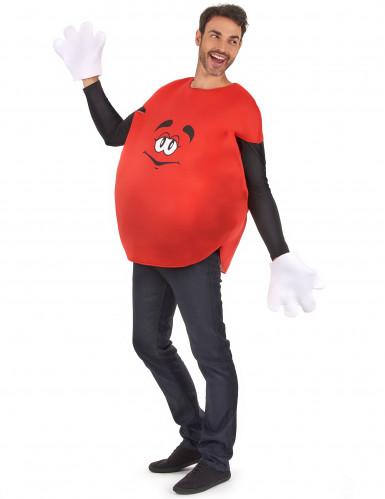 Rotes Bonbon-Kostüm für Erwachsene-1