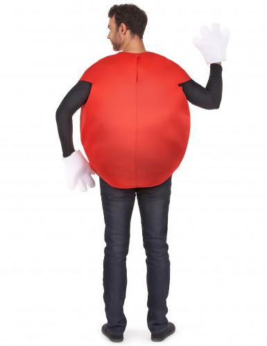 Rotes Bonbon-Kostüm für Erwachsene-2