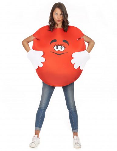 Rotes Bonbon-Kostüm für Erwachsene-3