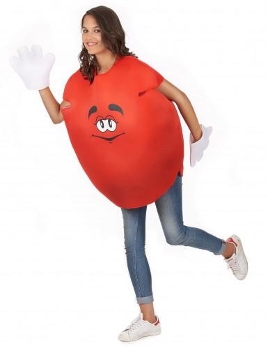 Rotes Bonbon-Kostüm für Erwachsene-4