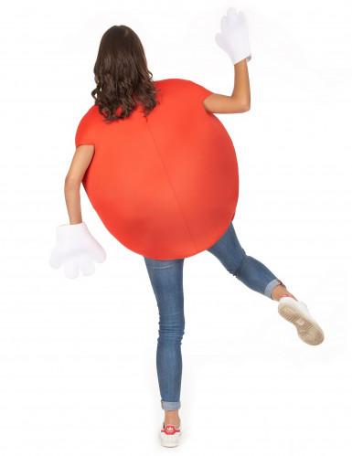 Rotes Bonbon-Kostüm für Erwachsene-5